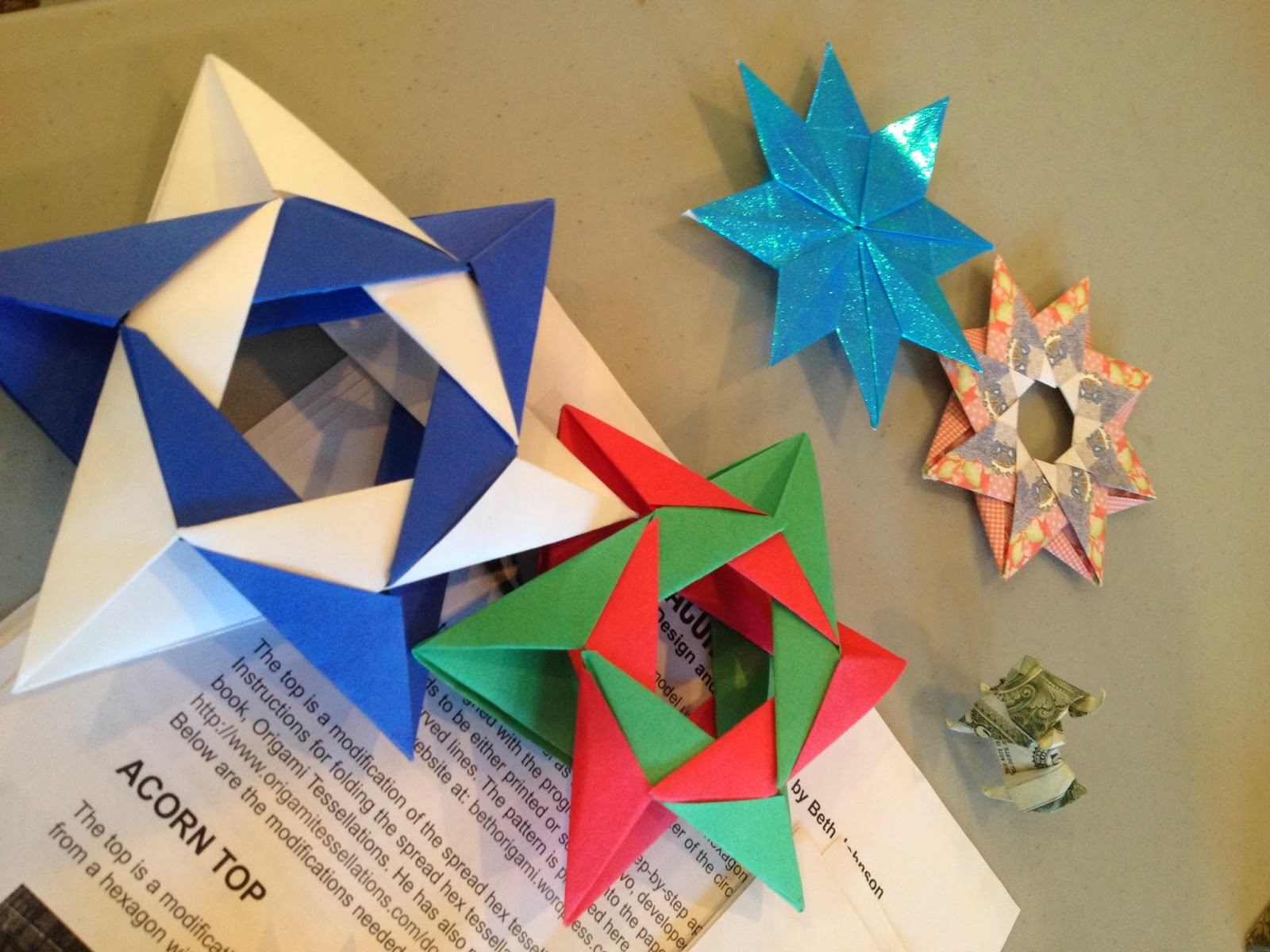 Have Paper Will Travel 1st Sunday At Martis Origami Fun In Garden Star Wars Diagrams And Crease Patterns Starwarigami Sorry Im Not Posting Much The Way Of A Description Account What We Did Either Just Shortage On Time Allowed Only An Hour Library