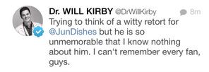 Dr. Will Kirby Twitter Jun Song