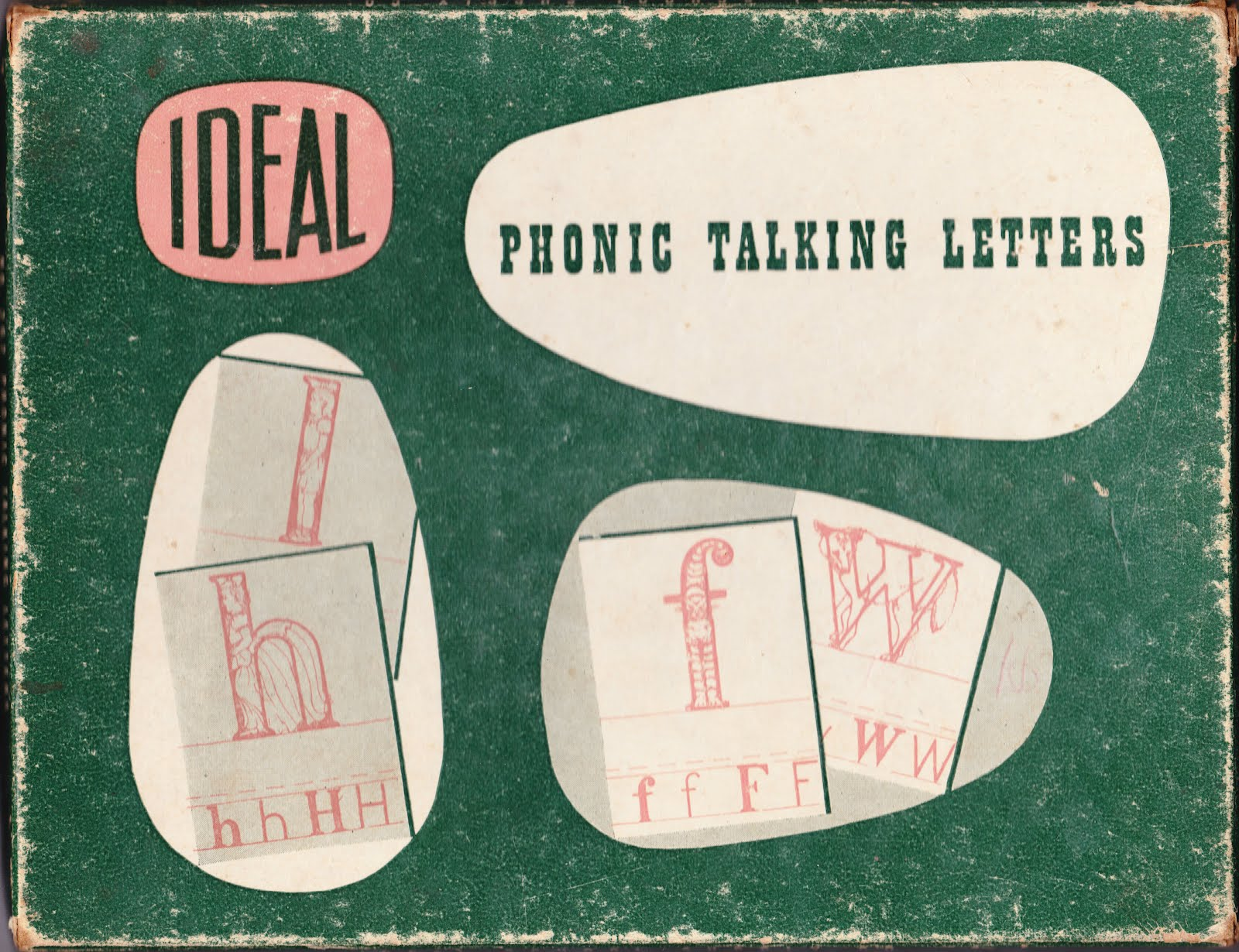 papergreat phonic talking letters from 1941 With talking letters