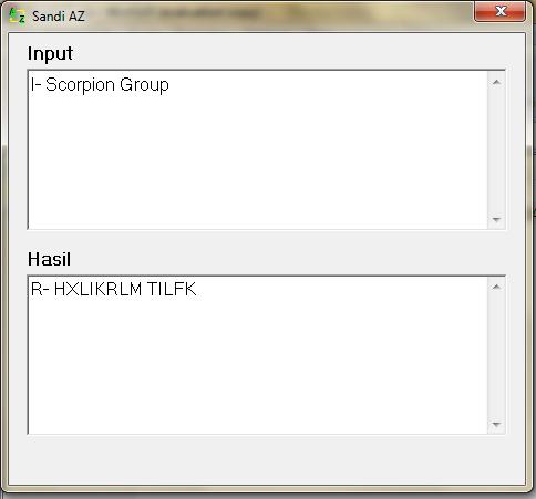 Download Software Pramuka Sandi Az | I-Scorpion Group