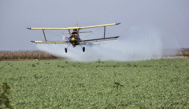 AGMER detectó 237 menores y 43 mayores afectados por la fumigación con agrotóxicos