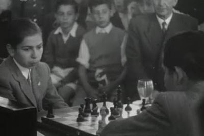 Partida de ajedrez Beltrán-Pomar, Campeonato de España de 1946