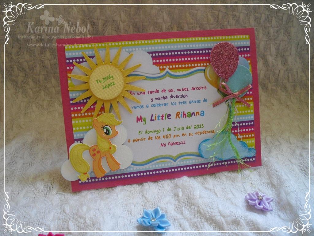 My Little Pony Invitations