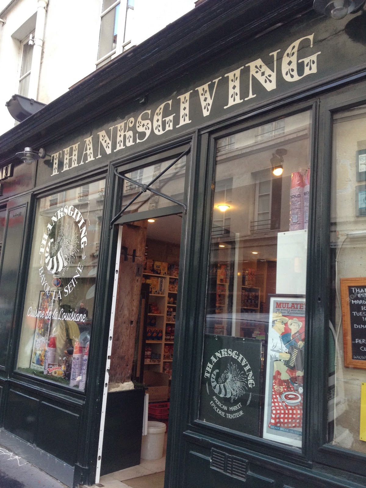 Thanksgiving in Le Marais