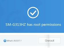 Cara Root Samsung Galaxy V SM-G313HZ Tanpa PC Komputer