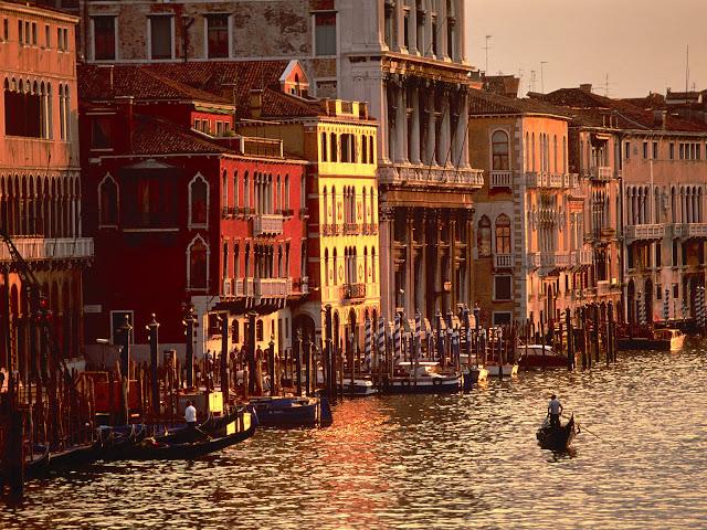 Por la tarde en Venecia