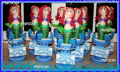 Centros De Mesa Infantiles  Ariel Una De Las Princesas M  S Hermosas