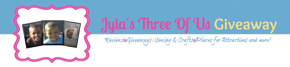 Jyla&#39;s Three Of Us Giveaway
