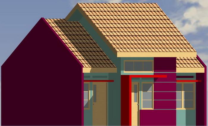 rumah tanah dan bangunan rumah minimalis denah rumah type