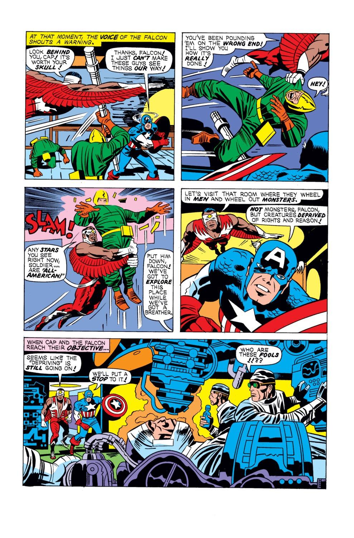 Captain America (1968) Issue #195 #109 - English 5