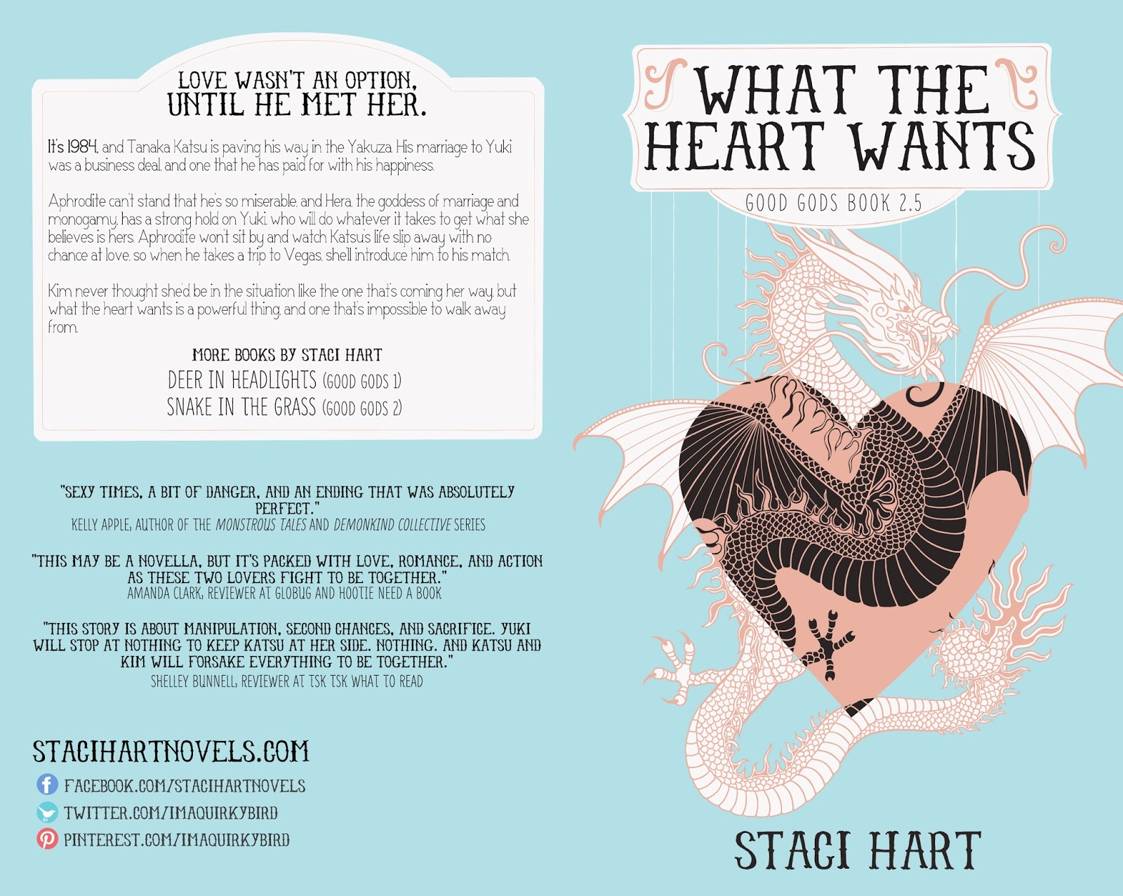 What the Heart Wants by Staci Hart