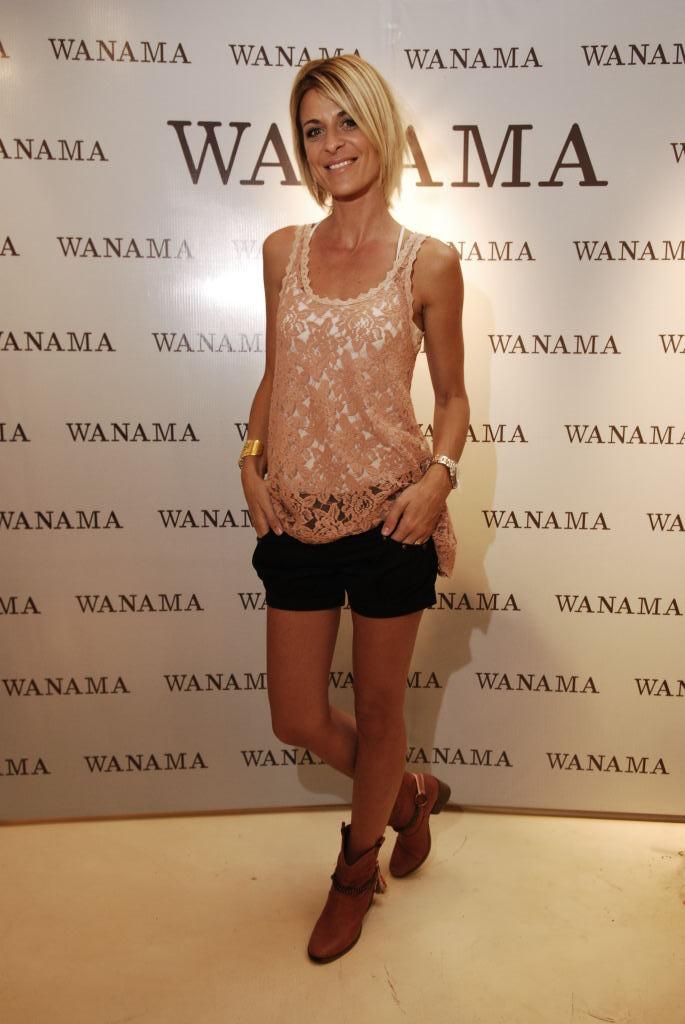 Eugenia Tobal, también fan de Wanama.