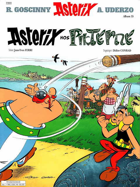 Omslag for Asterix hos Pikterne