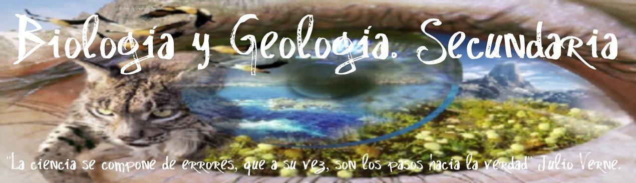 BIOLOGÍA Y GEOLOGÍA. SECUNDARIA