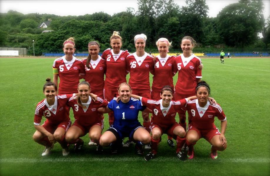 Support Local Football: FISU Kazan: Jackie Tessier in Poland