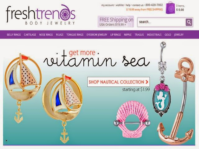 Summer Jewelry at FreshTrends.com