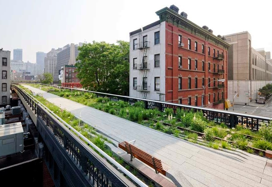 High Line o parque suspenso de Nova York