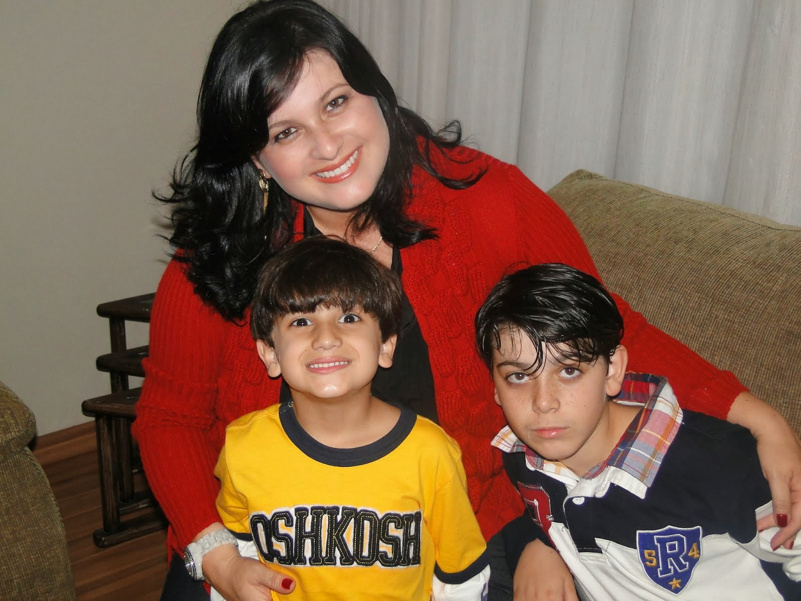 Meus filhos queridos Pedro e Heitor