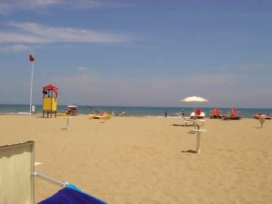 Beautiful Beaches Near Rimini, Italy