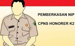 NIP CPNS Honorer K2 Lulus CPNS