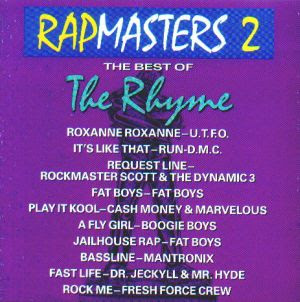 Various Artists – Rapmasters 2: Best Of The Rhyme (CD) (1989) (320 kbps)