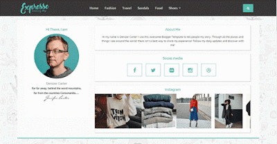 expresso-blogger-template