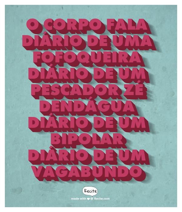 DIÁRIOS DO CAJU PLAYLIST