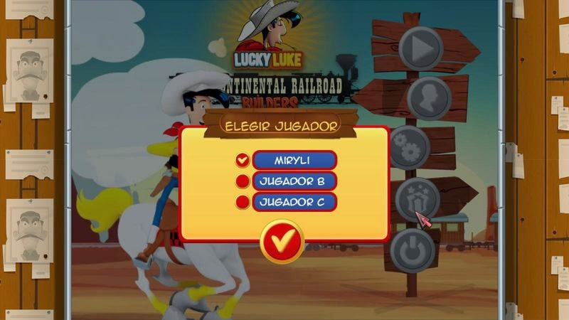 Lucky Luke: Transcontinental Railroad Builders Full Español