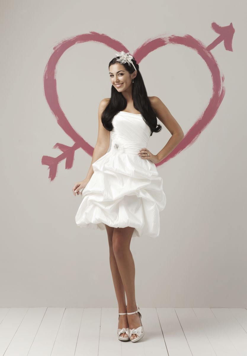 Whiteazalea cocktail dresses cocktail party wedding dresses for Wedding dress and reception dress