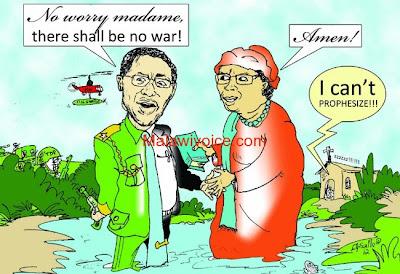 Hii ndo cartoon ya Wamalawi baada ya Tanzania kutoa Ramani mpya