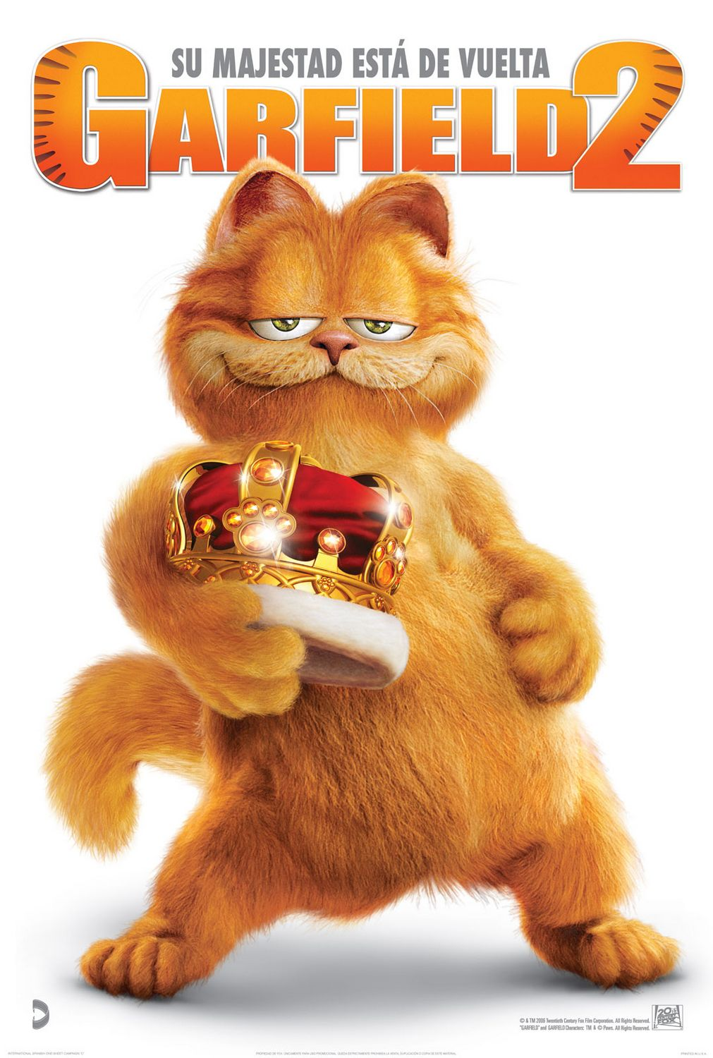Garfield: A Tail of Two Kitties (2006) 720p BRRip MKV ...