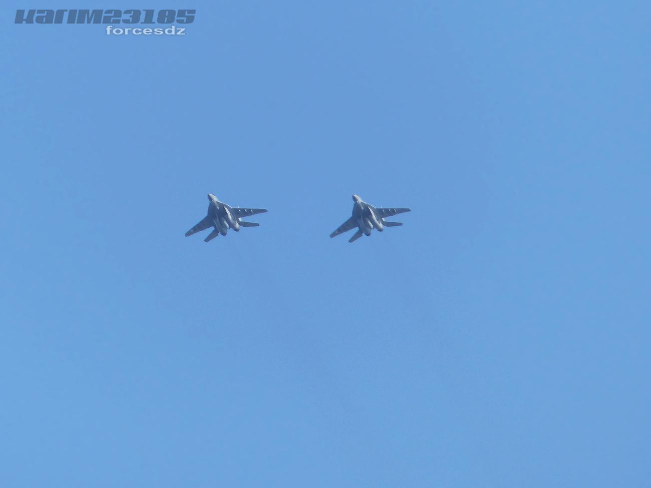 صور طائرات القوات الجوية الجزائرية  [ MIG-29S/UB / Fulcrum ] 3