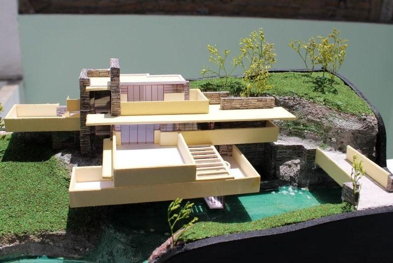 Apuntes revista digital de arquitectura maquetas reales for Casa moderna maqueta