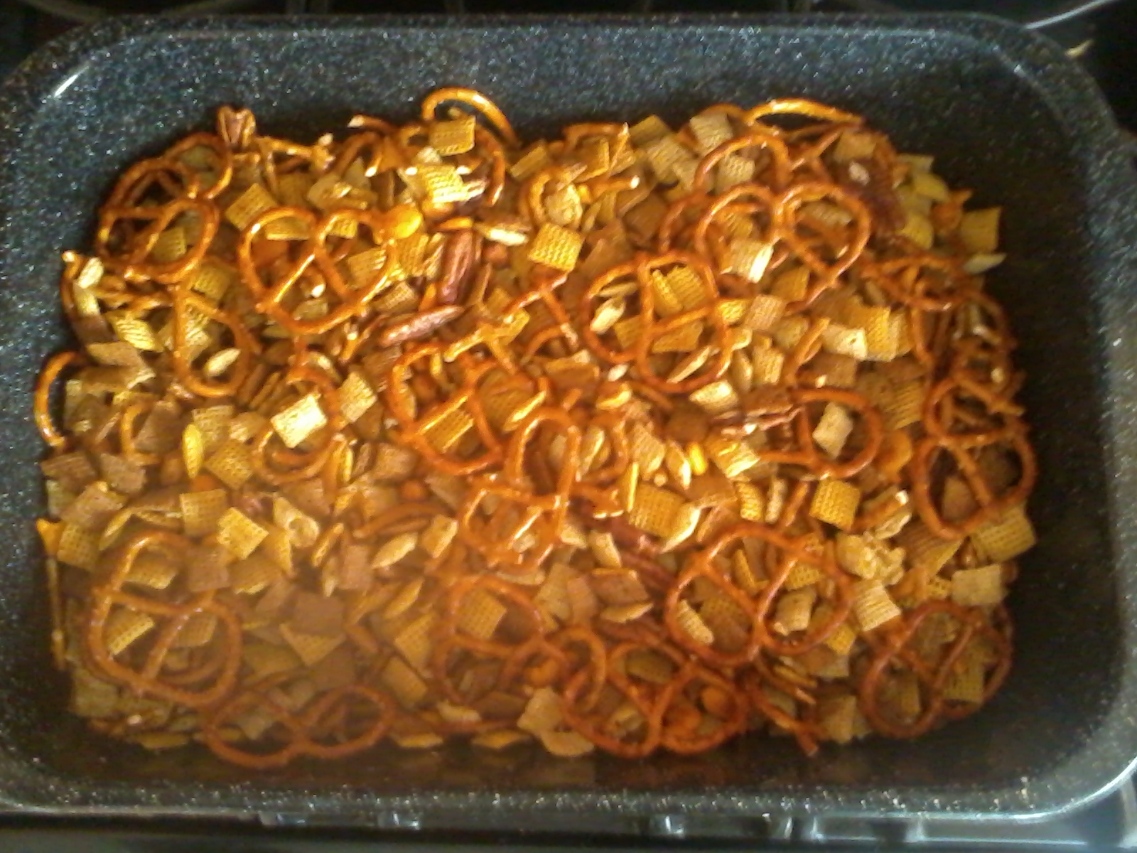 Sherry Ink: Recipe: Original Chex Party Mix