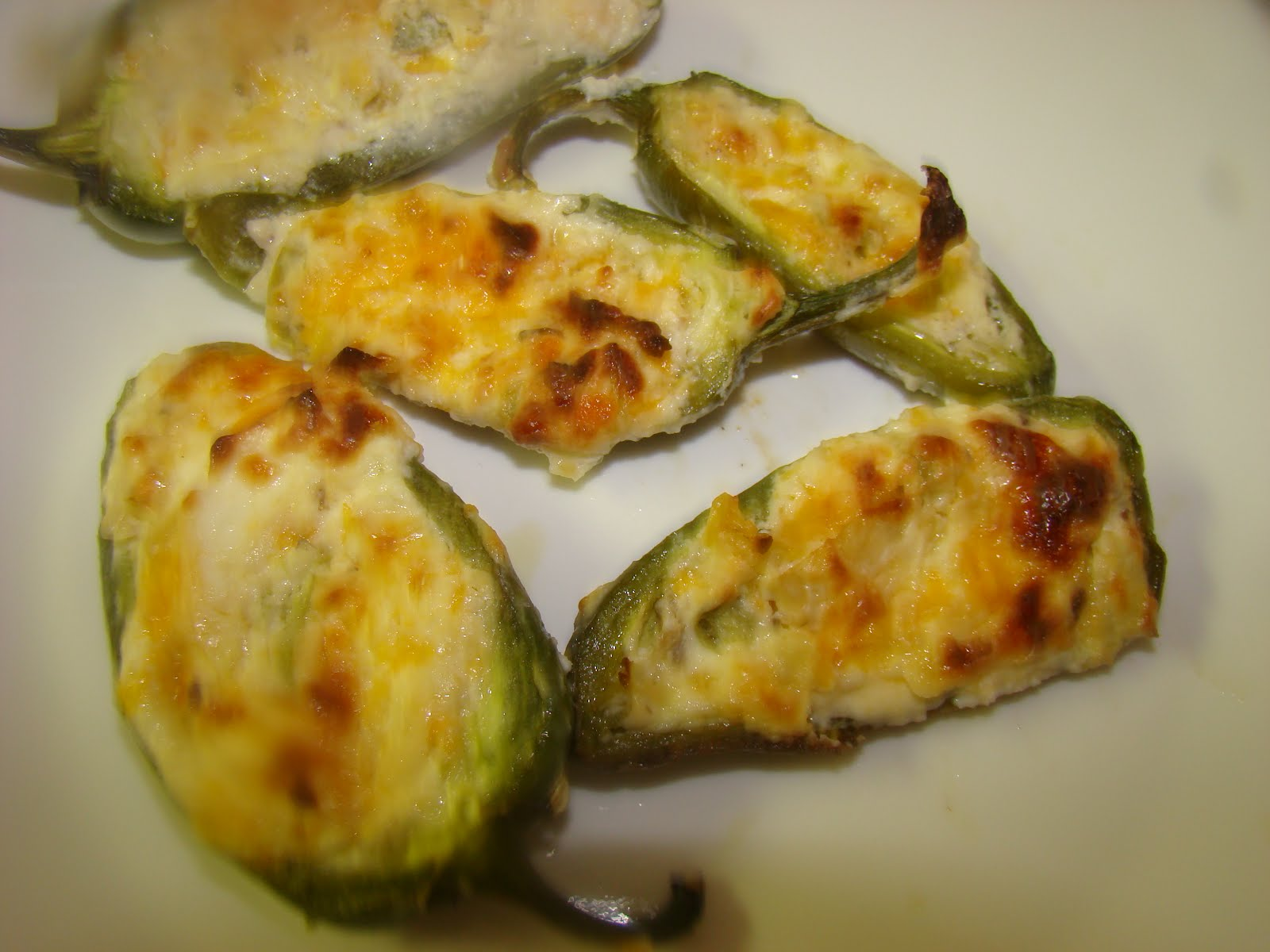 My Favorite Recipes Collection: Baked/Broiled Stuffed Jalapenos
