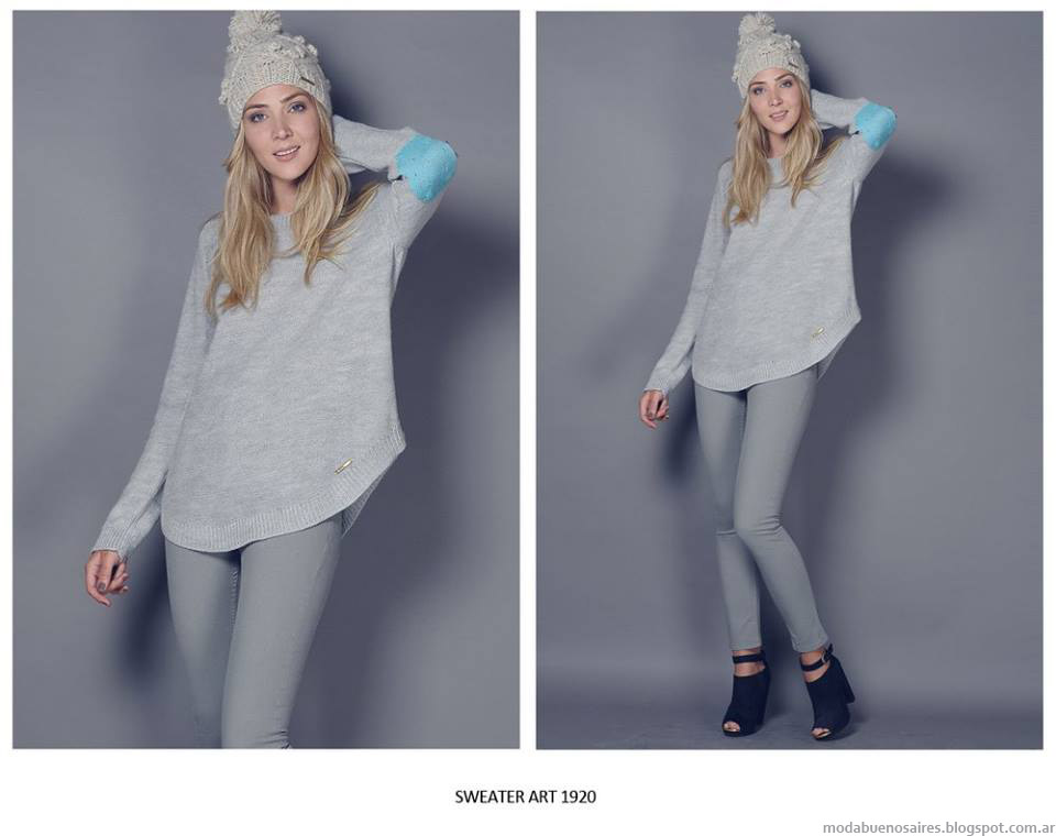 Moda invierno 2015 Agostina Bianchi.