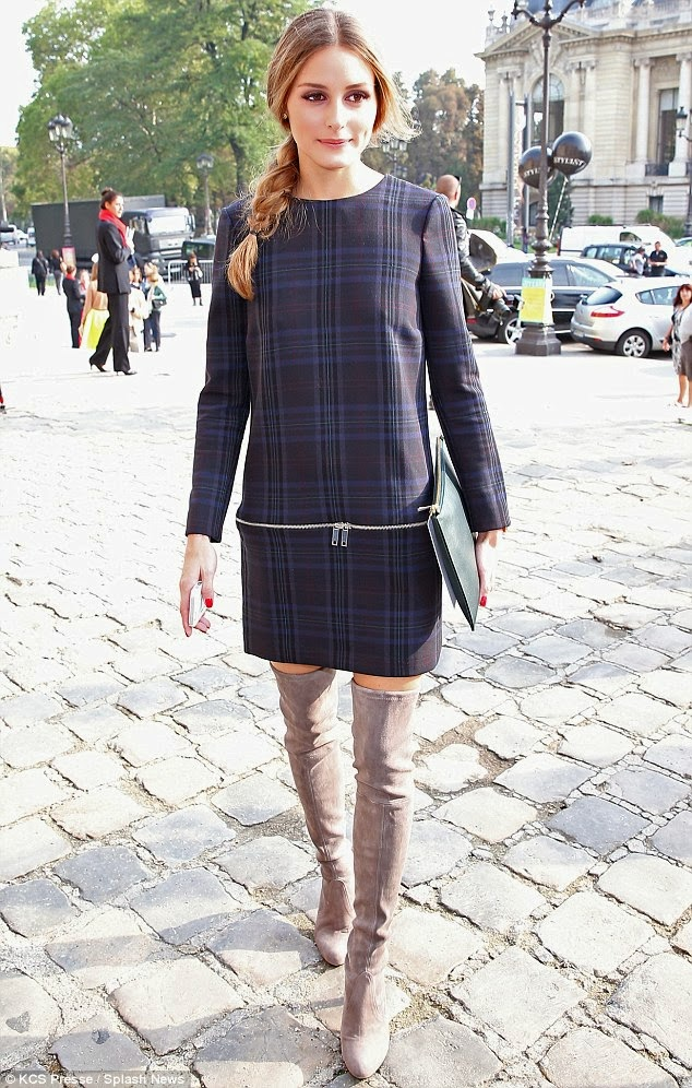 The Olivia Palermo Lookbook Paris Fashion Week Olivia Palermo At Carven