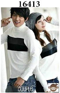 sweater couple korea