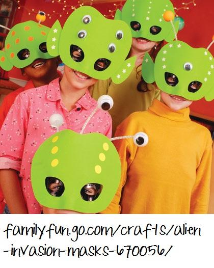 Spacecraft Alien Preschool Theme 420 x 526