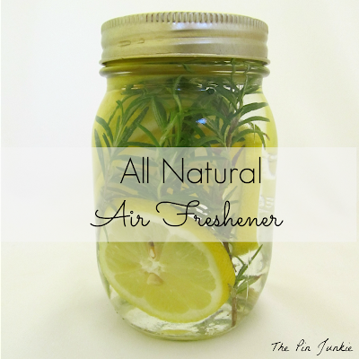 All Natural Air Freshener. Top 10 Post Features from Pin It Monday Hop #18.
