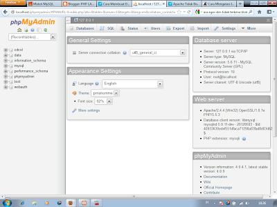 1 - Cara Menciptakan Database Di Xampp