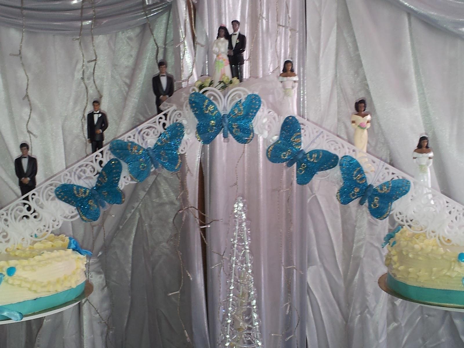 La Pâtisserie de Brunette: Gâteau mariage haïtien parfum vanille