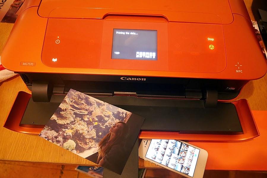 Canon, PIXMA, MG7570, All-in-One, printer