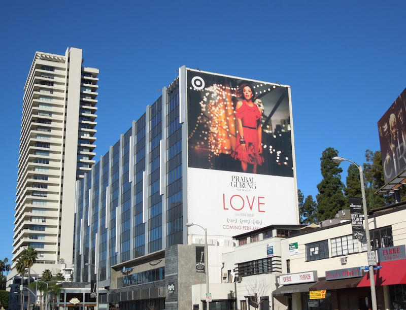 Giant Target Prabal Gurung Love fashion billboard