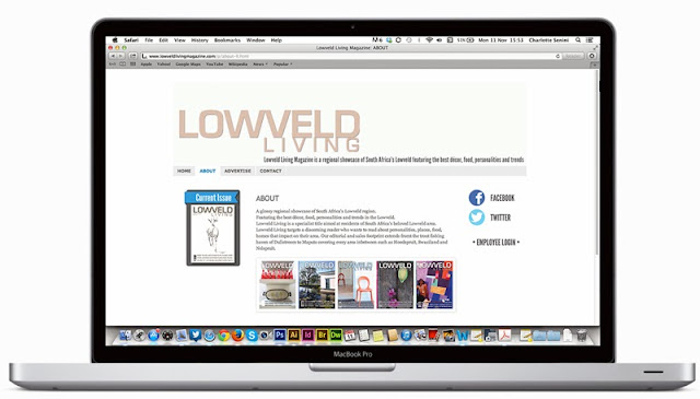 lowveld living - web design