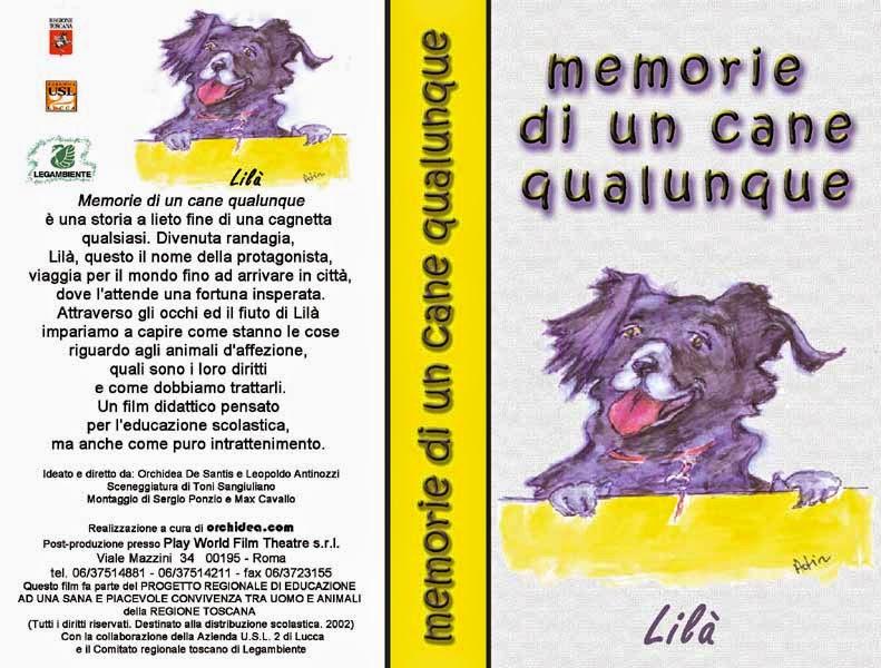 copertina VHS Memorie di un cane qualunque