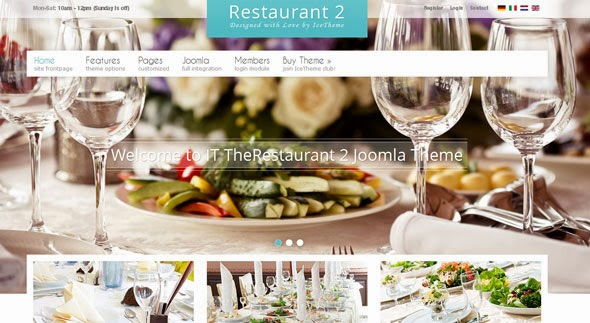 IT THERESTAURANT 2 - ICETHEME JOOMLA TEMPLATE