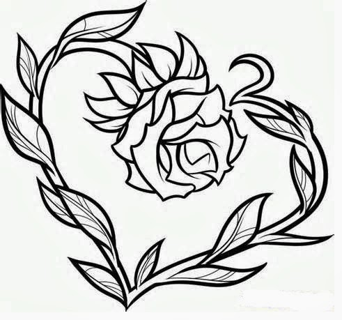 Comprehensive image with regard to rose stencil printable
