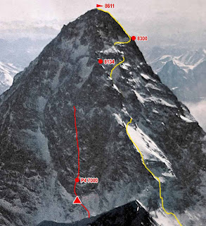 K2 Mountain Wallpaper World Visits: K2 In Pakistan Second Highest Mountain In The World