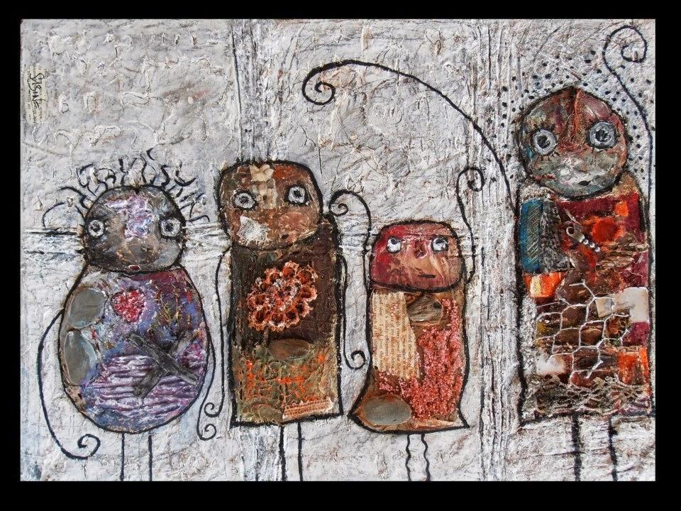 sabine bourdet exposition art brut art singulier- gricha rosov outsider art magazine